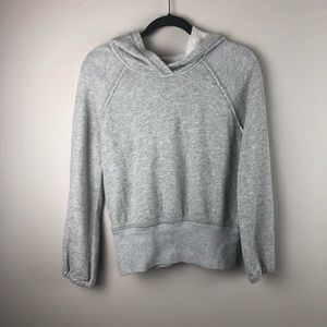 FREE PEOPLE | Comfy Grey hoodie XS